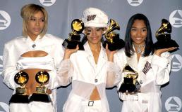 """T-Boz, Lisa """"Left Eye"""" Lopes and Chilli of TLC (Photo by Jim Smeal/WireImage)"""